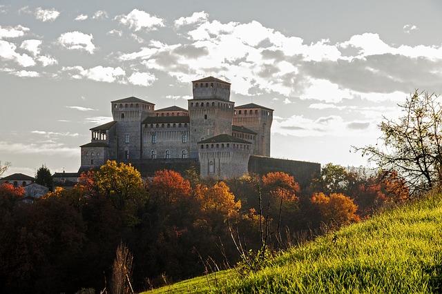 vista castelo de parma