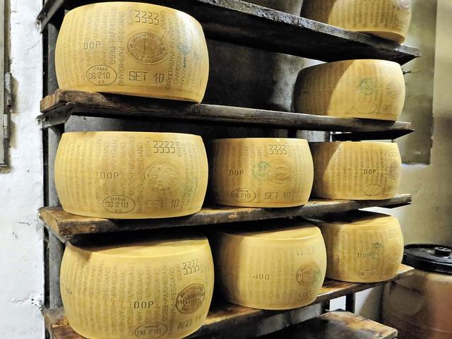 queijo Parmigiano-Reggiano