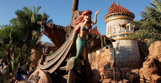 UNDER THE SEA - Nova Fantasy Land - Novidades no Magic Kingdom