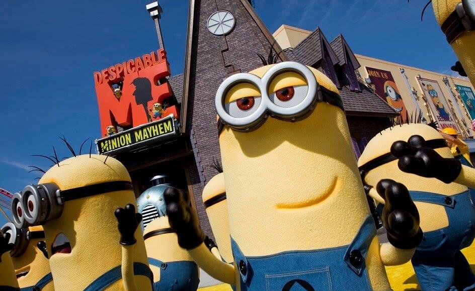 Brinquedo Minions Parque Universal Studios Orlando Malvado - Universal Studios Orlando - Guia Completo