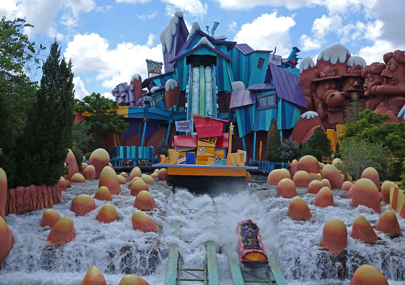 Toon Lagoon Undercover - Universal Island of Adventures - Guia Completo