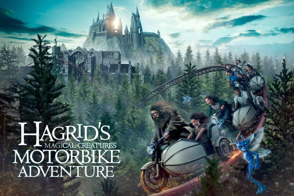 montanha russa do Hagrid