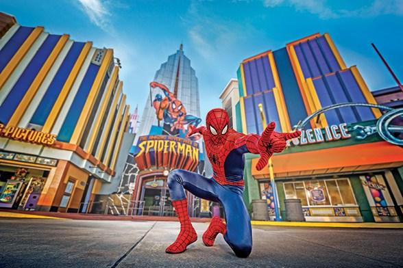 simulador spider man homem aranha universal
