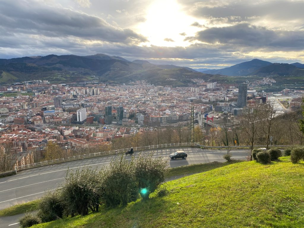 visto do alto de bilbao