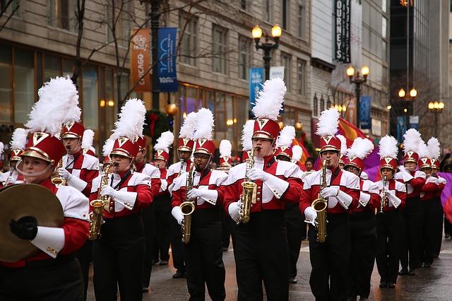 desfile parada de ação de graças em NYC