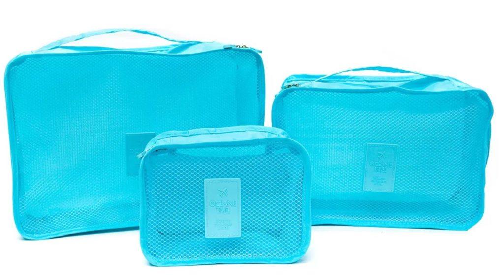 organizadores de viagem 1024x560 - 10 dicas para arrumar sua mala de mão de até 10 kg