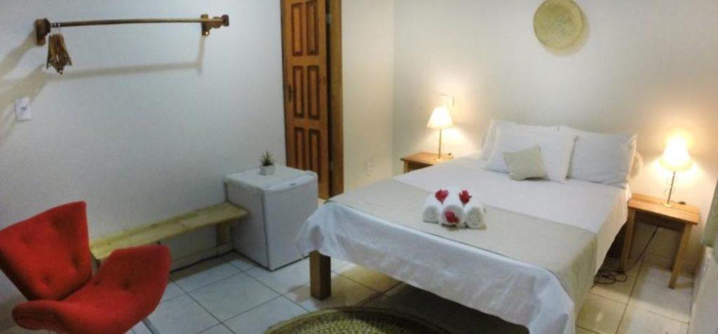 quarto da pousada baoba em Jericoacoara