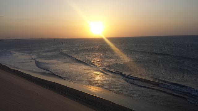 mar da praia de jeriquaquara