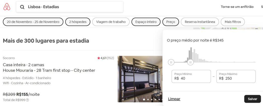 preço 1024x415 - Airbnb - segredos para conseguir desconto em sua hospedagem + Cupom Ativo