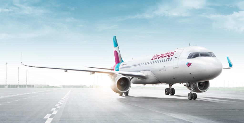 eurowings low cost 1024x515 - Companhias Aéreas Baratas na Europa: Low Cost