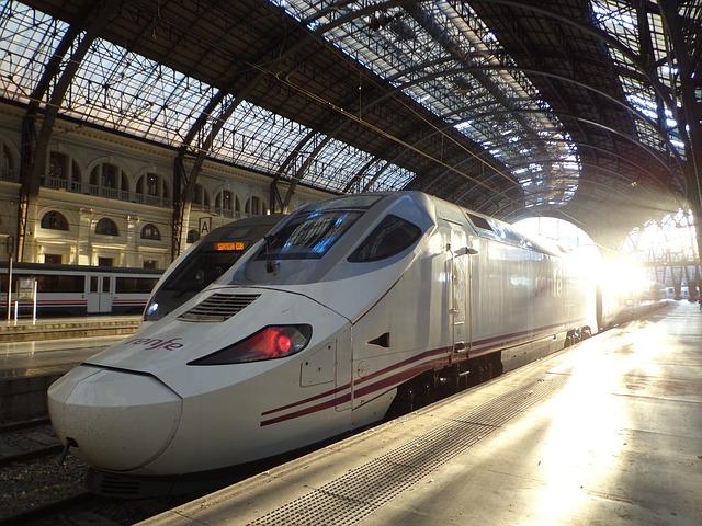 renfe trem espanha - Viajar pela Europa de Trem ou avião ?