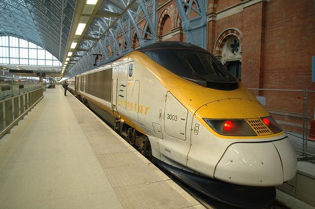 trem eurostar - Viajar pela Europa de Trem ou avião ?