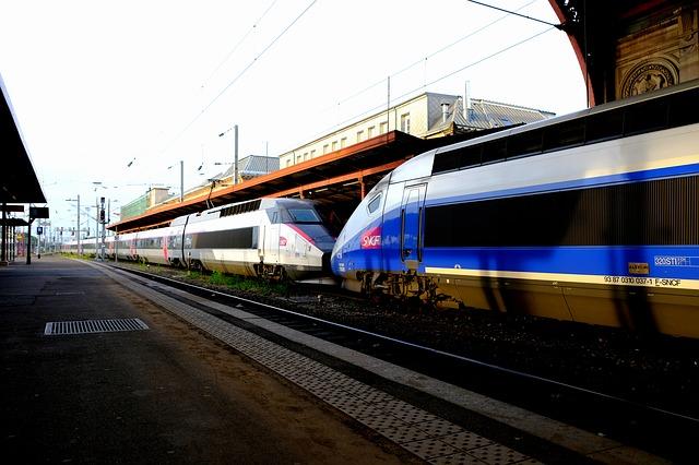 trem tgv - Viajar pela Europa de Trem ou avião ?