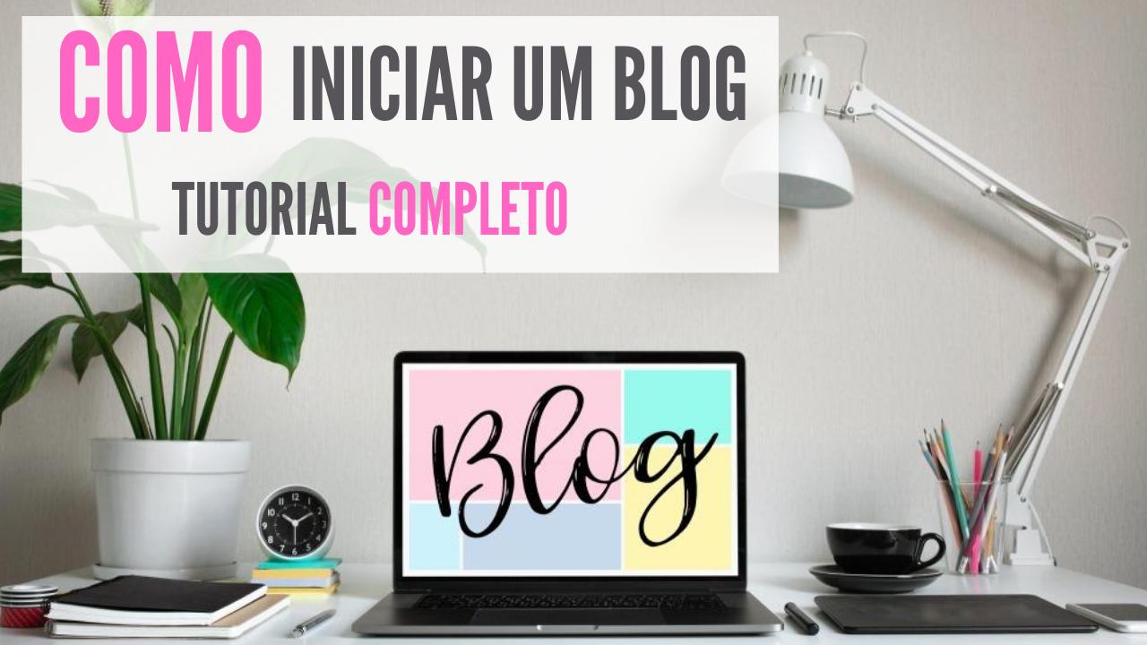 passo a passo para fazer um blog