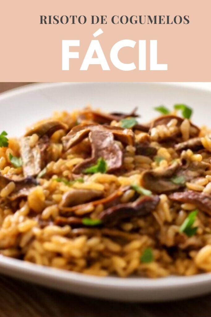 risoto cogumelos 683x1024 - Risoto de Cogumelos Fácil