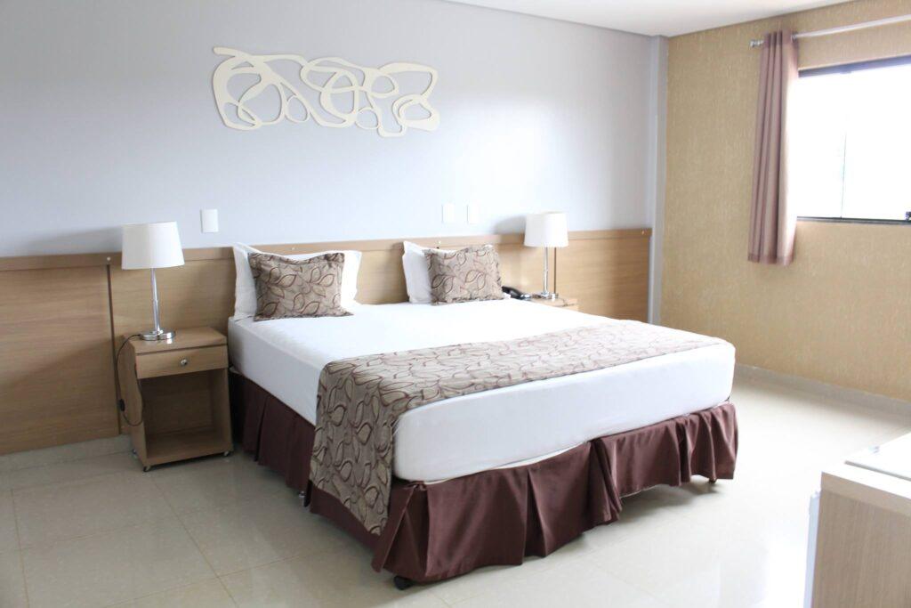quarto hotel 1024x683 - Cachoeiras em Formosa - Goiás
