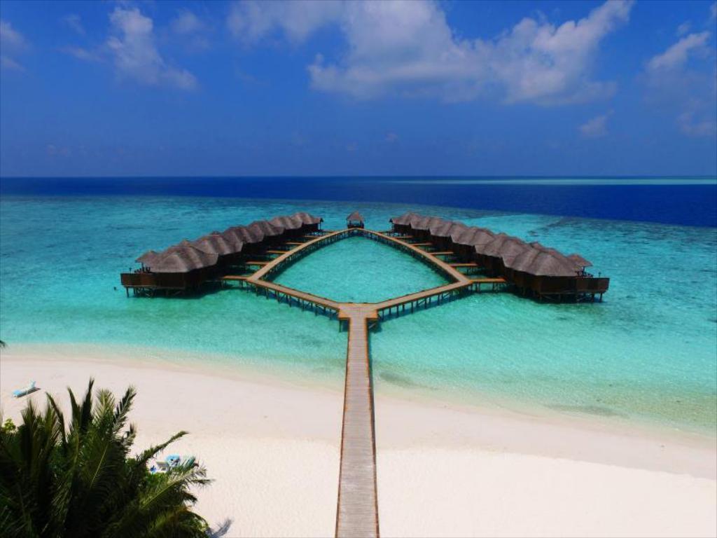 VILAS - Hotéis baratos nas Maldivas - Top 10 resorts