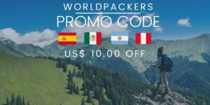 codigo promocional worldpackers 1 300x150 - Worldpackers Código Promocional - US$ 10.00